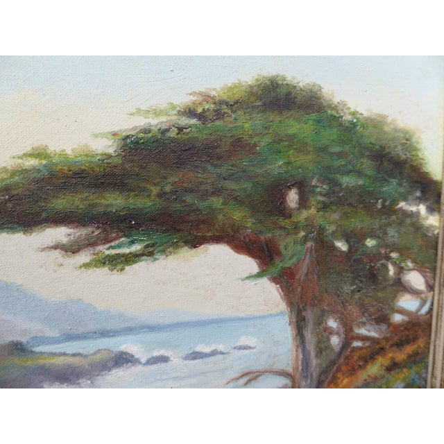 """""""Montaña De Oro State Park"""" Oil Paintings - A Pair For Sale In Los Angeles - Image 6 of 11"""
