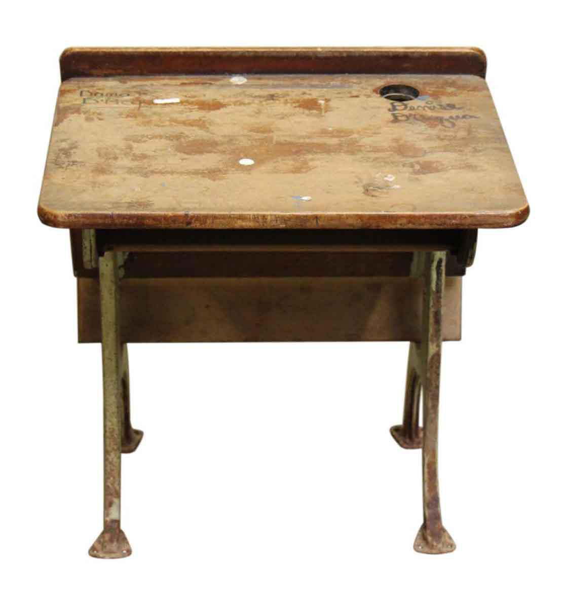 Wooden school desk and chair 19th Century School Vintage School Desk Chair For Sale Image Of 10 Chairish Vintage School Desk Chair Chairish