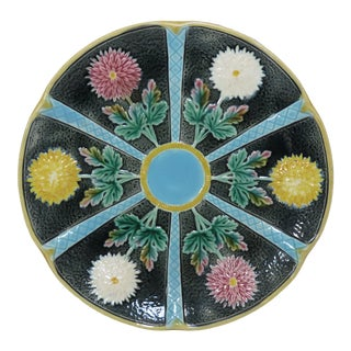 Antique Wedgwood Majolica Serving Dish Circa 1870s For Sale