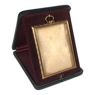 Antique Bronze Travelling Picture Frame For Sale