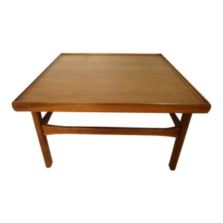 Mid-Century Modern Square Coffee Table