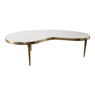 Mid Century Atomic Mosaic Coffee Table For Sale