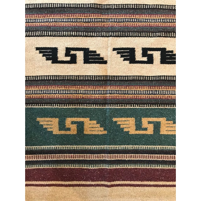 New southwest style rug found at a flea market in Arizona.