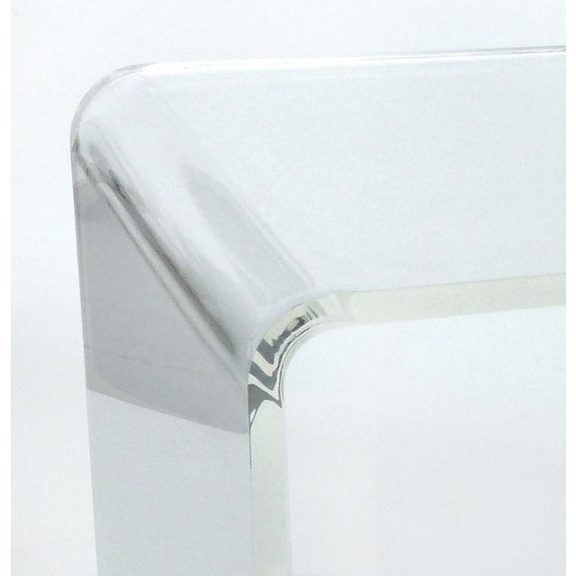 Contemporary Modern Waterfall Coffee Table For Sale - Image 3 of 5