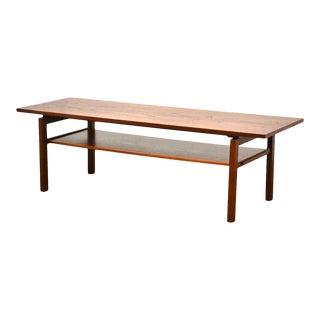 Danish Teak MCM Coffee Table For Sale
