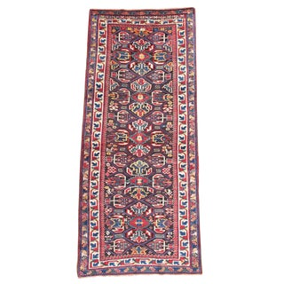 Karabagh Wool Rug - 3′5″ × 8′ For Sale