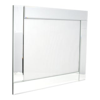 Beveled Mirrored Wall Picture Frame For Sale