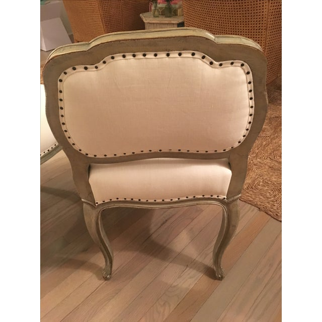 Antique Reupholstered Swedish Chairs - A Pair - Image 7 of 7