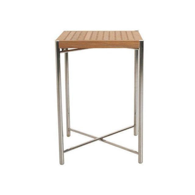 Not Yet Made - Made To Order Summit Furniture Sundeck Folding Side Table For Sale - Image 5 of 5