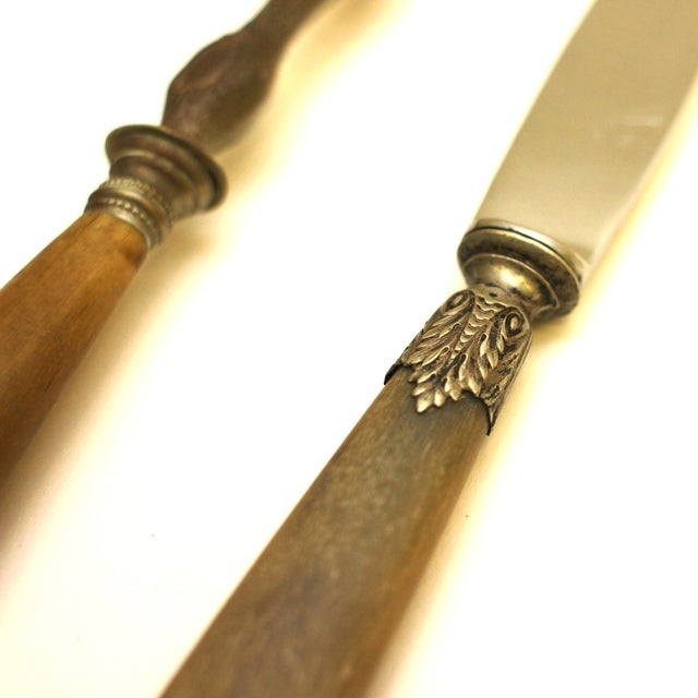 French 19th Century French Serving Set - 2 Pieces For Sale - Image 3 of 5