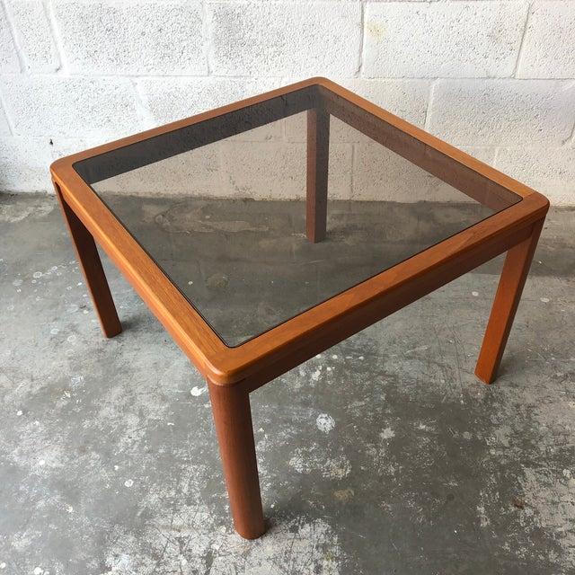 Vintage Mid Century Danish Modern End Table by Uldum Mobelfabrik. For Sale - Image 13 of 13
