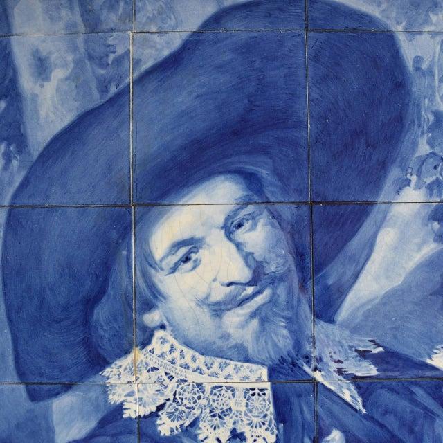 Rare Delft Tile Mosaic - Image 4 of 7