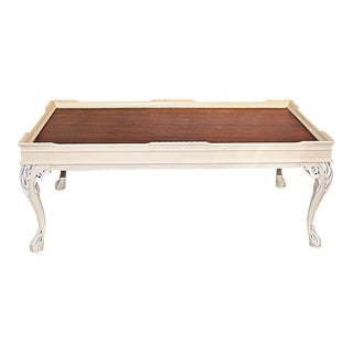 Chalk Paint® Mahogany Coffee Table For Sale