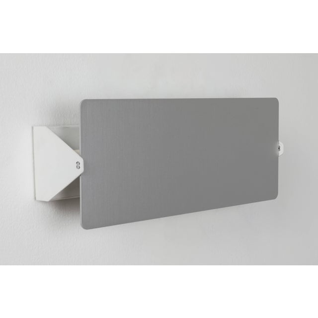 Charlotte Perriand 'Applique à Volet Pivotant Double' Wall Lights in Aluminum For Sale In Los Angeles - Image 6 of 8