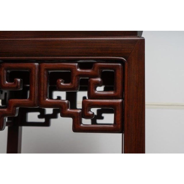 Chinese Rosewood Pedestals For Sale - Image 4 of 13