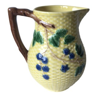 Tiffany & Co. Majolica Pitcher-Portugal