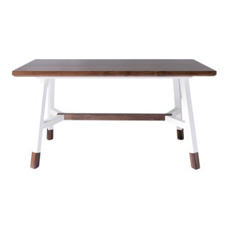 A-Frame Dining Table - White For Sale