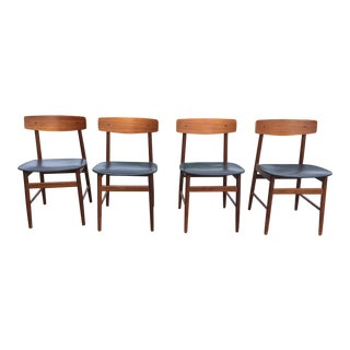 Farstrup Mobler Teak Dining Chairs - Set of 4 For Sale