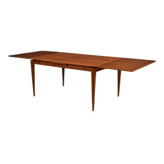 Vintage Mid Century Danish Niels Otto Moller Teak Dining Table For Sale