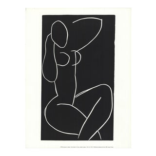 1990 Henri Matisse 'Seated Nude With Legs Crossed Ii' Modernism France Offset Lithograph For Sale
