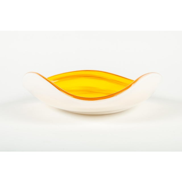 Murano Mid 20th Century Murano Glass Decorative Dish For Sale - Image 4 of 5