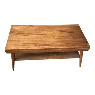 1970s Mid Century Atomic Coffee Table For Sale