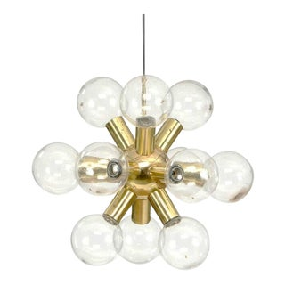 Sputnik Chandelier by JT Kalmar, 1970s For Sale