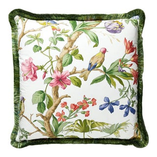 Belize Pillow in Ivory For Sale