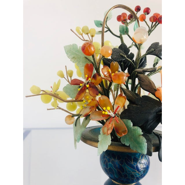 Asian 1940s Vintage Chinese Mineral Tree Model For Sale - Image 3 of 11