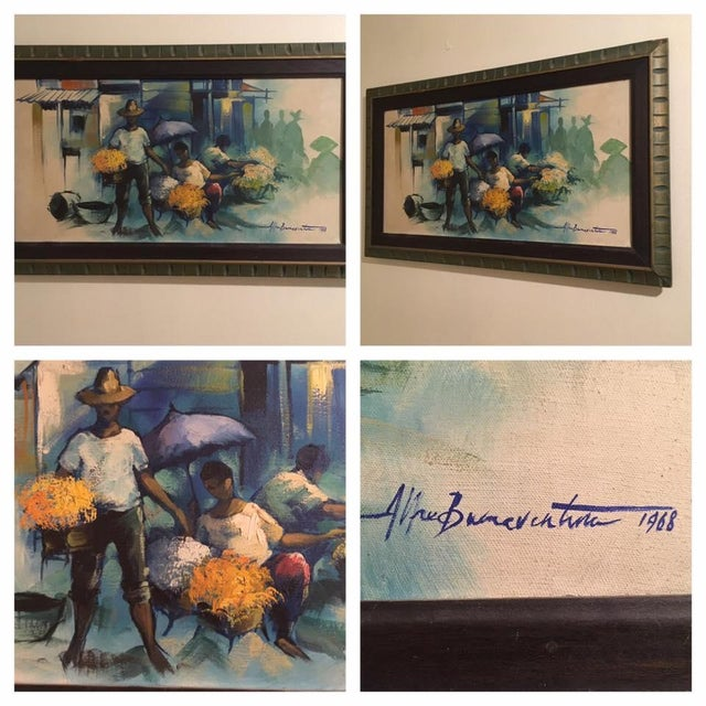 Original Impressionist Painting by Alfredo Buenaventura For Sale In Milwaukee - Image 6 of 6