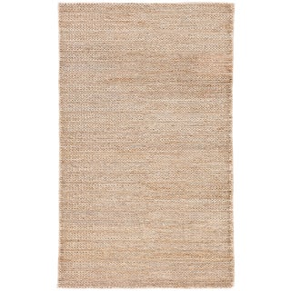 Jaipur Living Poncy Natural Solid Tan Area Rug - 2'x3' For Sale