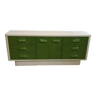 Broyhill Premier Chapter One Lime Green Dresser
