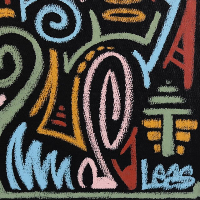 """""""The Jungle Awakens"""" Original Artwork on Canvas by Ilan Leas For Sale In Los Angeles - Image 6 of 10"""