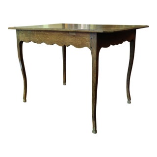 Country French Table, C.1880 For Sale