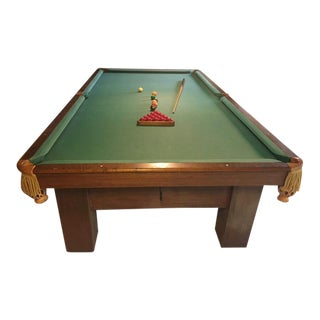 19th Century Slate Top Snooker Table For Sale