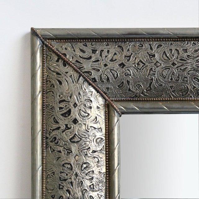 Nickel Mirror Frame - Image 2 of 3