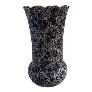 19th Century Chinoiserie Maddocks Lamberton Royal Porcelain Umbrella Stand For Sale