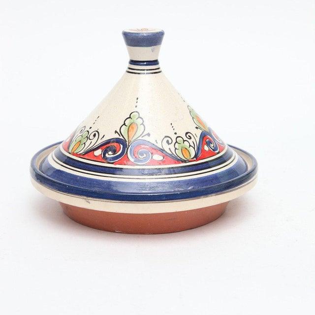 Atlas Blue Decorative Tajine - Image 2 of 3