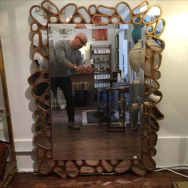 Transitional Mirror by John Richard - Image 3 of 5