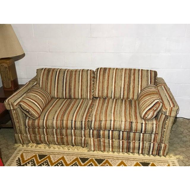 Fantastic Vintage Karpen Loveseat Sleeper Sofa Couch Creativecarmelina Interior Chair Design Creativecarmelinacom