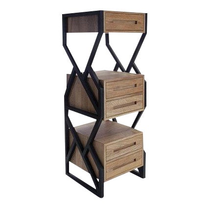 Levita Chest in Solid Matilisguate Wood For Sale