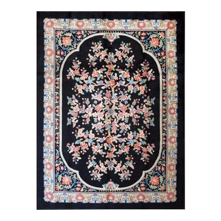 1920s Antique Chinese Art Deco Rug-9′ × 12′ For Sale