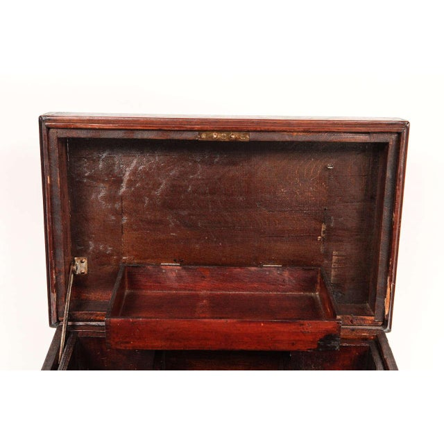 Small Carpenter's Chest C. 1900 For Sale - Image 9 of 10