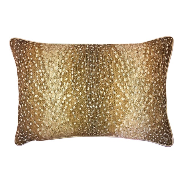 Antelope Down Feather Lumbar Pillow For Sale