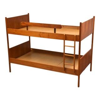 Westnofa Scandinavian Modern Teak Bunk Beds For Sale