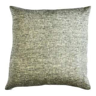 Thistle Throw Pillow Small Mustard For Sale