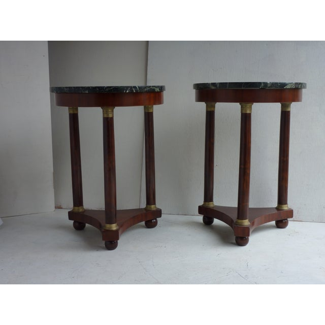 French Empire-Style Side Tables - A Pair - Image 3 of 7