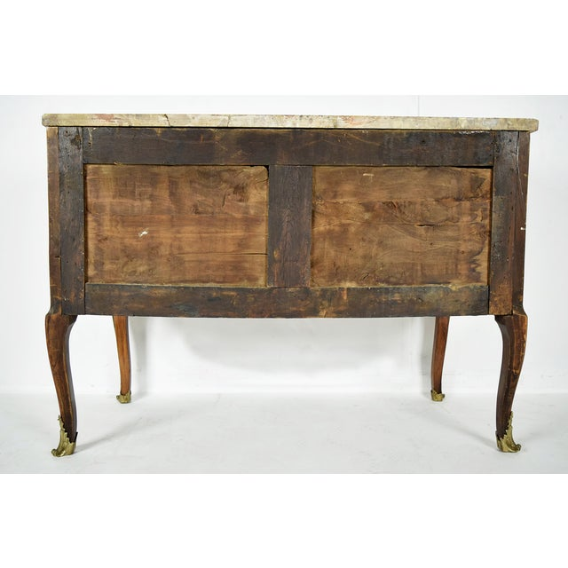 19th Century French Louis XVI Marquetry Dresser - Image 10 of 10