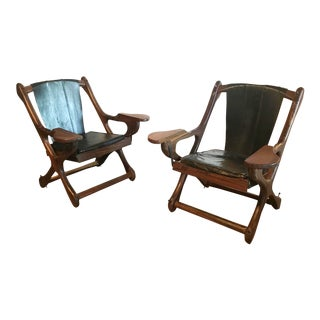 Don Shoemaker Swinger Lounge Chairs - a Pair For Sale