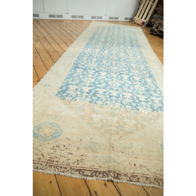 """Vintage Distressed Malayer Rug Runner - 5'3"""" X 16'5"""" For Sale In New York - Image 6 of 13"""